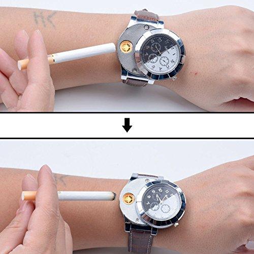 Ckeyin--Reloj-de-Cuarzo-con-USB-Electrnico-Recargable-a-Prueba-de-Viento-Encendedor-sin-Llama
