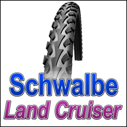 Schwalbe Fahrradreifen Land Cruiser (50-559) HS 307 Activeline Kevlarguard Drahtreifen, 26 x 1.90, 11132099.01