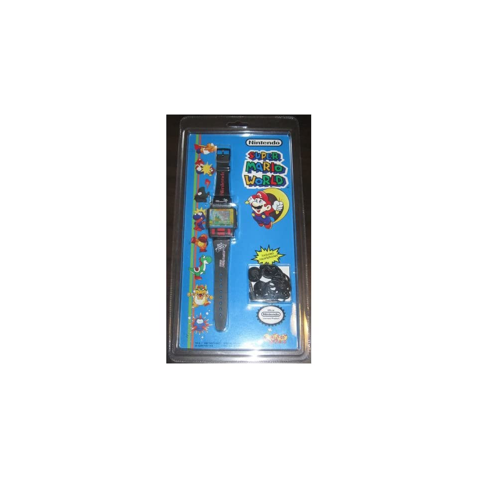 Super Mario World Electronic Handheld Color Game Watch (1991)