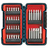 Bosch TS4036 Extra-Hard Screw Driving Bit Set with Compact Brute Tough Case, 36-Piece