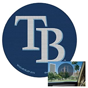 WinCraft Tampa Bay Rays Perforated Decal