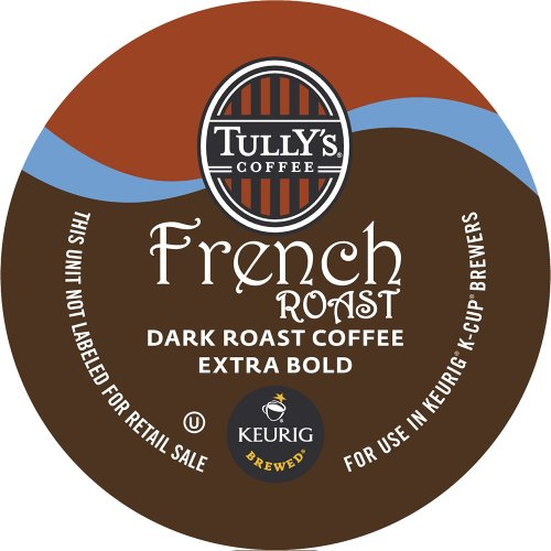 Keurig, Tully's French Roast, K-Cup Packs
