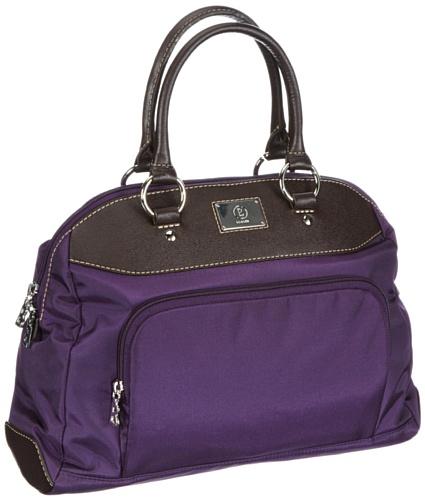Bogner Women's SAMAR Handbag Purple Violett (purple 191) Size: 36x25x14 cm (B x H x T)