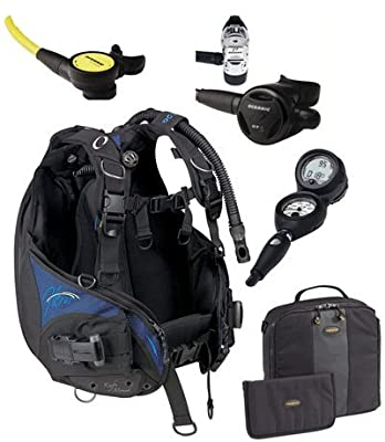 Oceanic Women's Hera BCD/ GT-3 Regulator Package sourcing is Oceanic