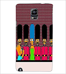 PrintDhaba Cartoon D-3745 Back Case Cover for SAMSUNG GALAXY NOTE 3 (Multi-Coloured)