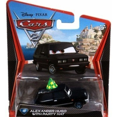 Disney Pixar Cars 2 - Alexander Hugo With Party Hat No. 48 - 1