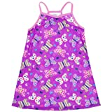 Komar Kids Purple Butterfly Racerback Nightgown For Girls