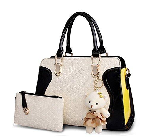 Kingcore Patent Leather Handbag Messenger Bag