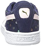 PUMA Suede Dotfetti JR Sneaker (Little Kid/Big Kid)