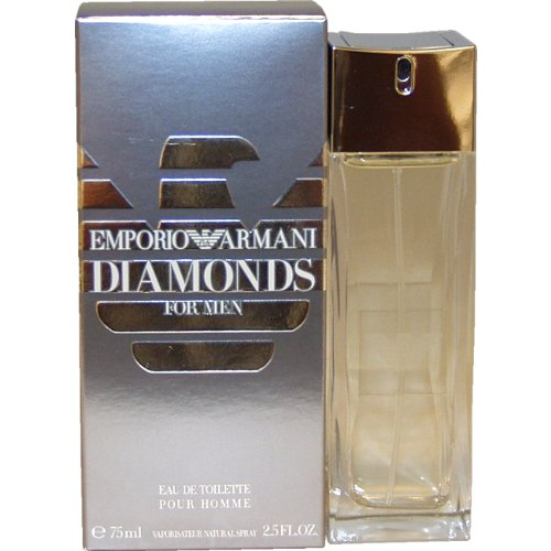 Emporio <strong>Armani Diamonds Eau de Toilette for <strong>Men - 75 ml