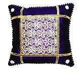 Fanto Cover Cotton Set Of 5 Cushion Cover- Purple, 41 cm x 41 cm