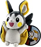 Pokemon Center Pokemon Center Official Nintendo Black And White Plush Stuffed Toy - Emonga