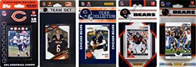NFL Chicago Bears 5 Different Licensed Trading Card Team Sets