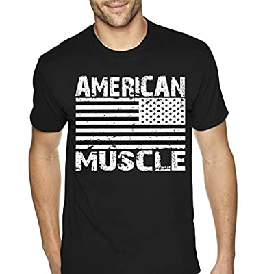 American Muscle Mens Bodybuilding T-Shirt By Superior Apparel