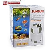 SunSun HW-302 3-Stage External Canister Filter, 264 GPH
