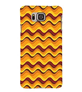 Abstract Painting 3D Hard Polycarbonate Designer Back Case Cover for Samsung Galaxy Alpha G850