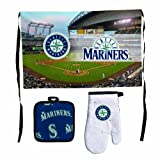 MLB Seattle Mariners Premium Barbeque Tailgate Set at Amazon.com