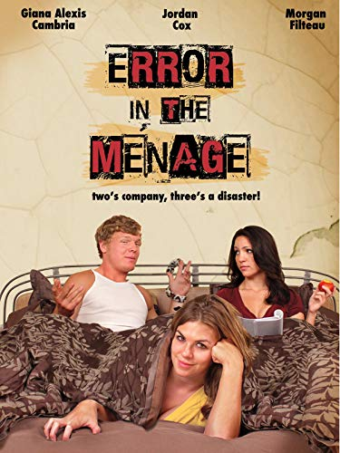 Error in the Ménage on Amazon Prime Video UK