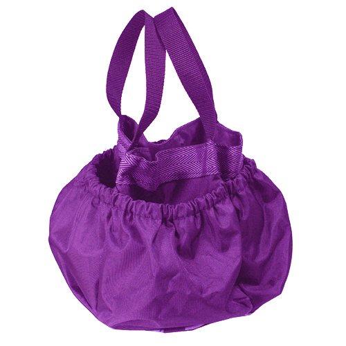 Intrepid International Grooming Tote Bag for Horse Grooming Supplies, Purple