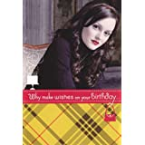 Greeting Cards Birthday Card Gossip Girl TV Show Leighton Meester  Blair Waldorf