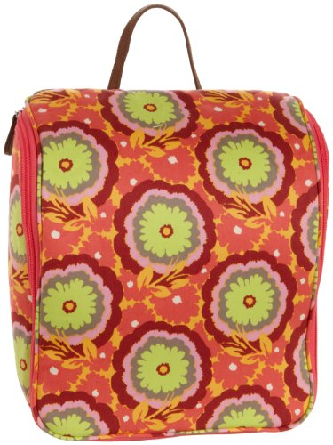Amy Butler Sweet Traveler Toiletry Bag,Buttercups Tangerine,one size
