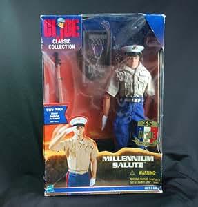 "GI Joe MILLENNIUM SALUTE 12"" Marine Action Figure (1999 Hasbro)"