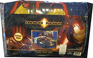 Iron Man 4pc. Twin Bedding set - Bed in a Bag
