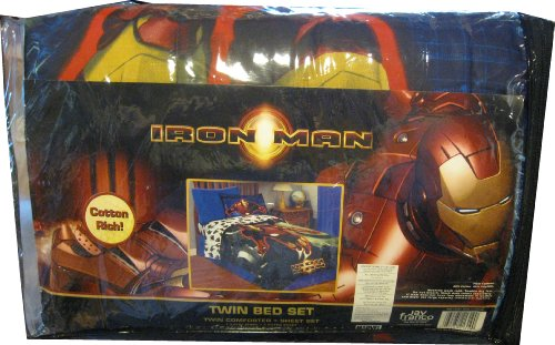 Bedding Collections: Iron Man 4pc. Twin Bedding Set