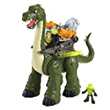 Imaginext® Dinosaur Deal: Includes Mega Apatosaurus, Motorized T-Rex & Motorized Spinosaurus