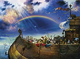 Noah's Ark Jigsaw Puzzle 1500pc