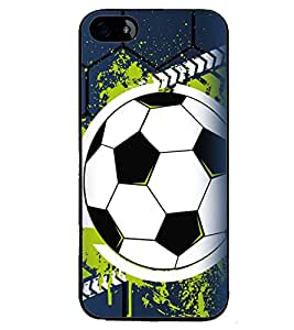 Printvisa Football The Greatest Sport Blue Backround Back Case Cover for Apple iPhone 4S