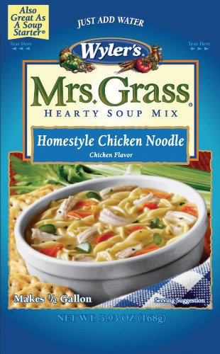 Mrs. Grass Hearty Soup Mix, Homestyle Chicken Noodle, 5.93 Ounce (Pack of 8) (Hearty Soup Mix compare prices)