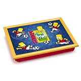 The Simpsons Padded Lap Tray Laptray - Bart Striker