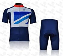 Cycling Jersey Set Short-sleeved Jersey Tenacious Life/perspiration Breathable (XXL)