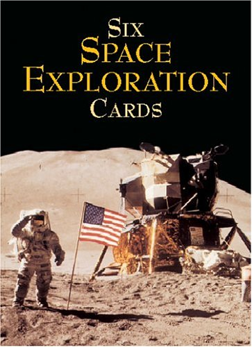 Six Space Exploration Cards (Dover Postcards) (Space Postcards compare prices)