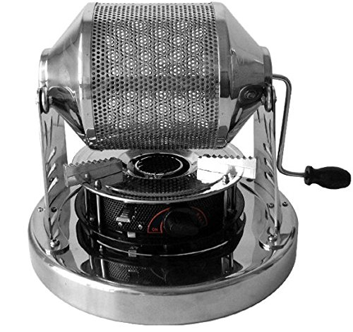 Cranked Coffee Roaster Hand Coffee Beans Machine Coffee Roasting Equipment With Portable Outdoor Gas Stove