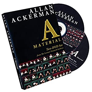 Murphy's Magic Allan Ackerman A Material (2 DVD Set) by The Miracle Factory DVD