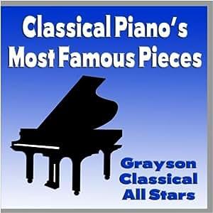 top 10 most popular classical piano pieces