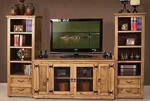 Amazon Com Laredo Rustic Entertainment Media Center