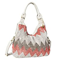 Hot Sale Big Buddha Courtny Hobo Handbag (Coral)