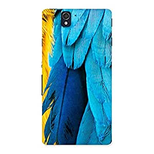 Blue Wings Back Case Cover for Sony Xperia Z