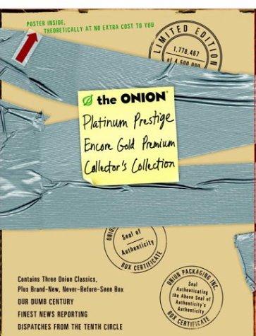 The Onion: Platinum Prestige Encore Gold Premium Collector's Collection