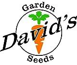 David's Garden Seeds Popcorn DGSOR121Jl (Yellow) 100 Heirloom Seeds