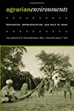 img - for Agrarian Environments: Resources, Representations, and Rule in India book / textbook / text book
