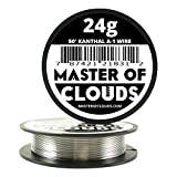 50ft. Kanthal A1 Resistance Wire 24 AWG Gauge 50' Lengths