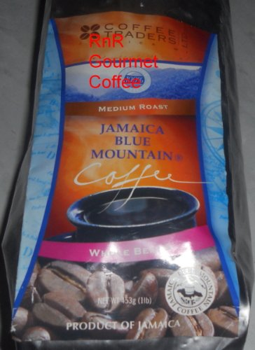 Jamaica Blue Mountain Coffee Certified 100% Pure Ground 1 Lb