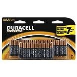 Duracell Coppertop Alkaline Batteries, AAA, 24 batteries