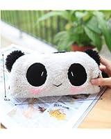 Belle peluche de panda Crayon Pen Sac Cas mignon dans le sac de maquillage cosmétique de sac de poche
