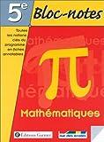 echange, troc Collectif - Bloc notes, 5e : Mathématiques