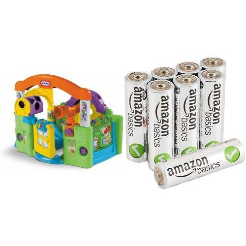 Little Tikes Activity Garden Baby Playset With Amazonbasics Aa Batteries Bundle Epic Kids Toys